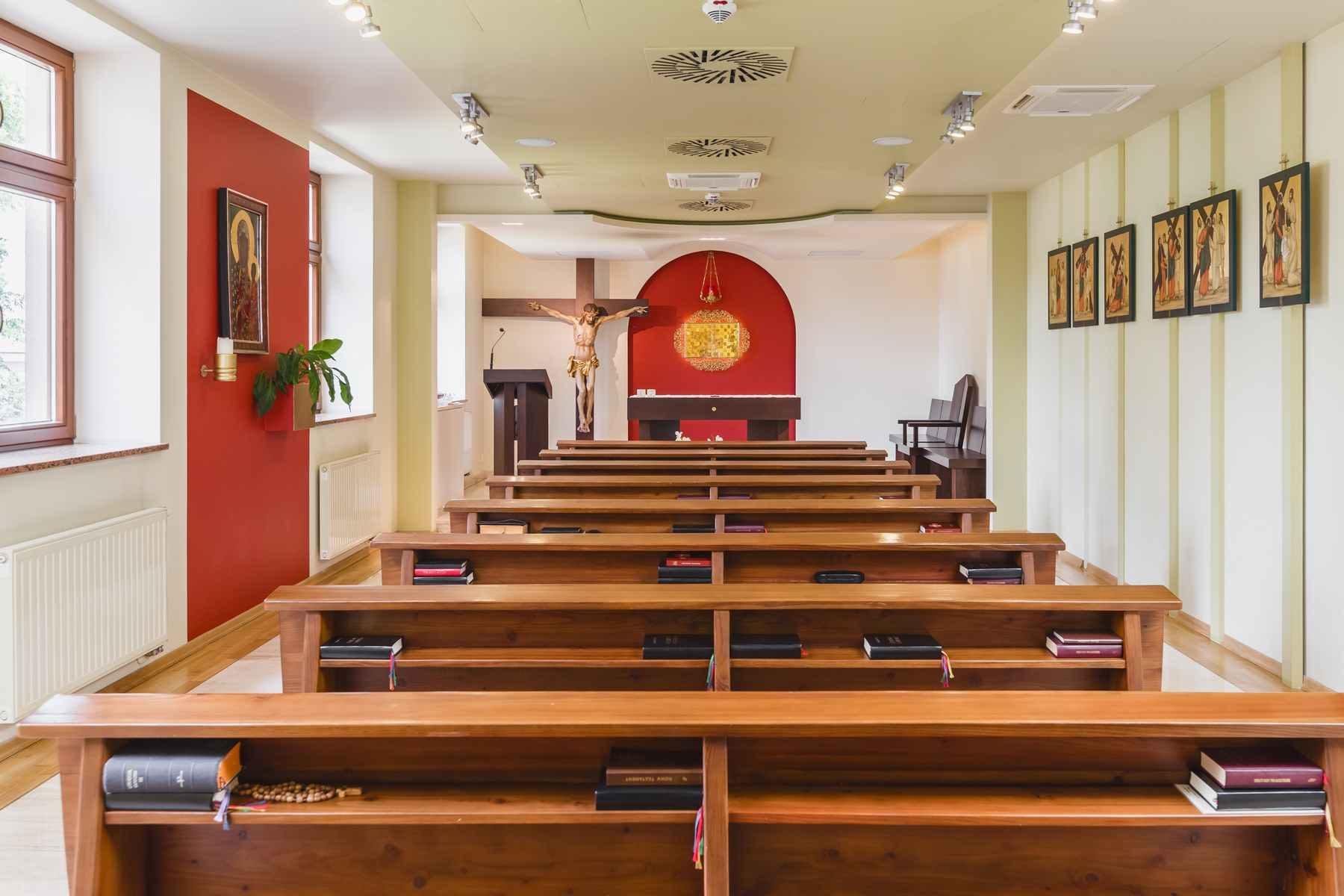 Kaplica, rekolekcje, rekolekcje kapłańskie, chapel